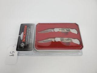 Winchester Skrimshaw 2 Knife Set