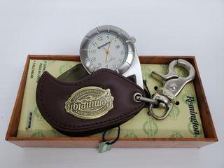 Remington Pocket Watch w  leather