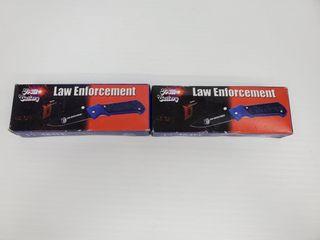 2   Frost Cutlery law Enforcement Knives