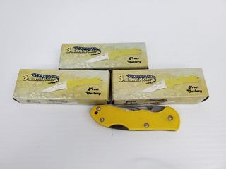 4   Frost Cutlery Salamander Knives