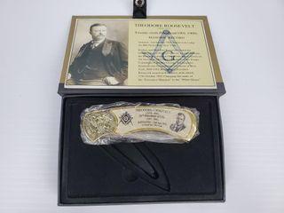 1   Theodore Roosevelt Masonic Knife