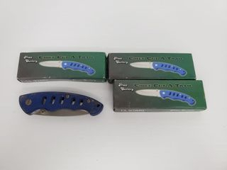 4   Frost Cutlery Chief Trail Knives