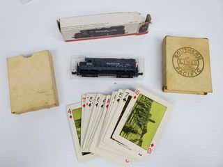 Southern Pacific locomotive   Cards