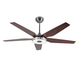 Explorer 56  Smart Ceiling Fan with Remote  light Kit IncludedWorks with Google Assistant and Amazon Alexa  Retail 255 49