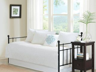 White Vancouver Daybed Set  75x39  6pc