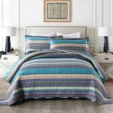 Bohemian Quilt Bedspread Set