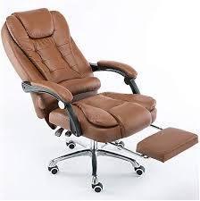 massage recliner brown