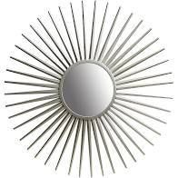 patton silver sunday wall accent mirror