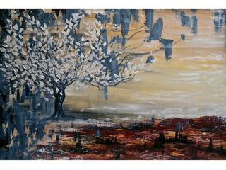 Marmont Hill   Handmade Paradise lost Print on Wrapped Canvas  Retail 171 49