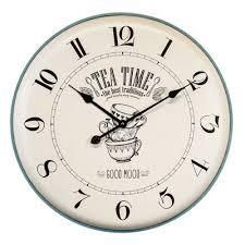 yosemite home decor breakfast mood clock