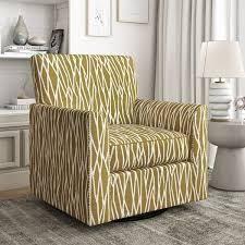 Copper Grove Ensi Modern Half Round Arm Swivel Club Chair  Retail 488 49 oatmeal