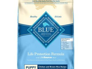 Blue Buffalo life Protection Chicken   Brown Rice Recipe Puppy Dry Dog Food   30lbs