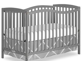 Dream On Me Chelsea 5 in 1 Convertible Crib Steel Grey