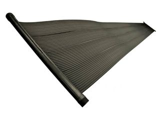 SunHeater Universal 2  x 20  Solar Heating Panel for In Ground or Above Ground Pool 80 Sq Ft  Black