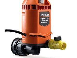 Ridgid 26453 Quick Connect Pump