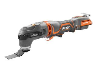 RIDGID 18 Volt Octane Cordless Brushless JobMax Multi Tool with Tool Free Head with Four Degree Of Oscillation