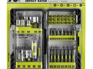 Ryobi   AR2040   Impact Rated Driving Kit   70 Piece
