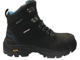 Helly Hansen Women s Bergend Waterproof 6  Work Boots   Composite Toe   Black Blue Size 11 M