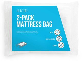 lucid 2 Pack Queen Mattress Moving and Storage Bags