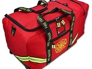 lightning X Deluxe Fireman Firefighter Boot style Turnout Step In Bunker Gear Bag