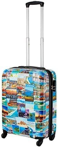 Cabin Max Icon   ABS lightweight luggage Suitcase Travel Trolley Carry on Cabin Bag  Postcard
