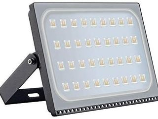200W lED Flood lights  20000lM Super Bright Work lights  Cold White 2800 3200K  Outdoor and Indoor IP65 Waterproof Wall lights Security light for Garage  Garden  lawn  Yard by Coolkun