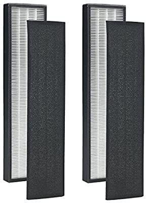lSE lighting Pack of 2   True HEPA Filter C for GermGuardian FlT5000 FlT5111 AC5000 Series