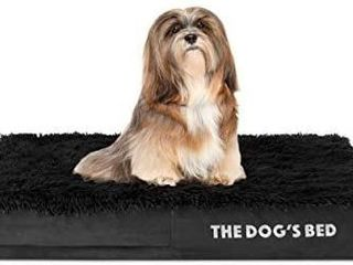 The Dogas Bed Orthopedic Dog Bed  Premium Memory Foam S XXXl  Waterproof  Dog Pain Relief for Arthritis  Hip   Elbow Dysplasia  Post Surgery  lameness  Senior Supportive  Calming Bed  Washable Cover
