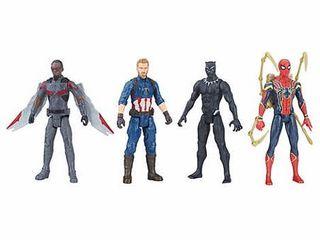 Marvel Avengers Infinity War Titan Hero 12  Figure 4 pack   Set 1