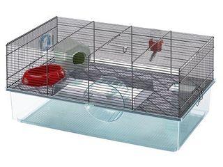 Ferplast Favola Hamster Cage  Black
