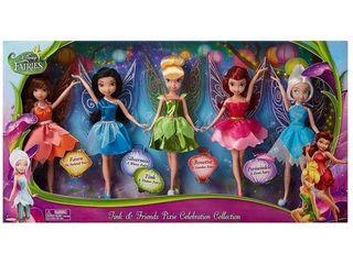 Disney Fairies 5 Pack Tink   Friends