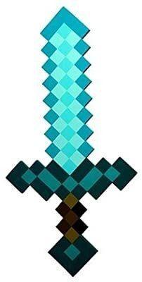 Diamond Minecraft Foam Sword