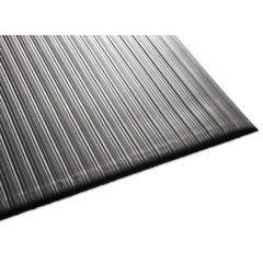 Air Step Antifatigue Mat  Polypropylene  36 x 144  Black