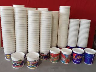 lot of Over 250 Casino Coin Cups