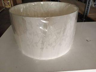 Progress lighting White Floral lamp Cover