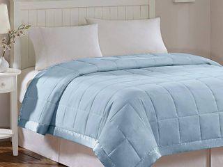 Madison Park Prospect 3M Moisture Management Down Alternative Blanket  King  Blue
