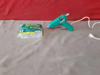 Gently Used Glue Gun and New Bag of 50 Glue Sticks