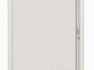 lARSON Brisa 36 in x 80 in White Aluminum Frame Retractable Screen Door Without Screen
