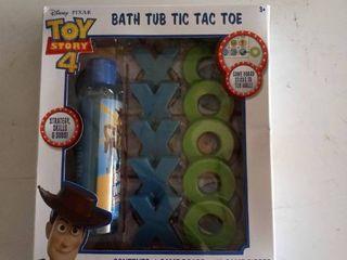 Toy Story 4 Bath Tub Tic Tac Toe With Body Wash  Sealed