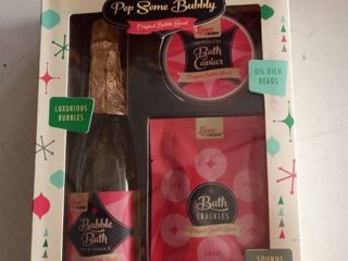 2 Pop Some Bubbly Bath Time Gift Sets Original Bubble Scent  Sealed