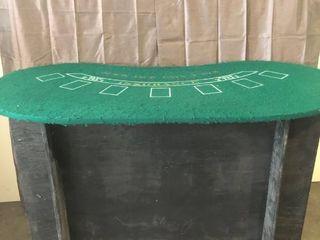 Custom Built Casino Night Portable Blackjack Table