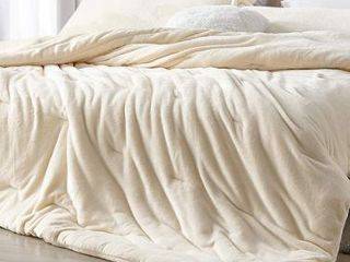 Coma Inducer Oversized Comforter   Me Sooo Comfy   Ecru  Retail 132 99