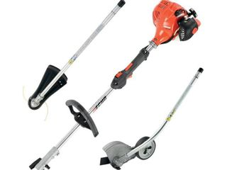 17 in  21 2 cc Gas PAS Trimmer and Edger Kit
