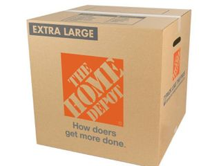 The Home Depot Extra large Moving Box  22 in  l x 22 in  W x 21 in  D