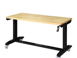 Husky 52 in  Adjustable Height Work Table