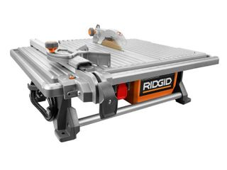 RIDGID 6 5 Amp Corded 7 in  Table Top Wet Tile Saw