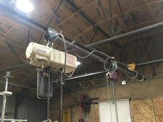 Hoist beam 2 trolleys