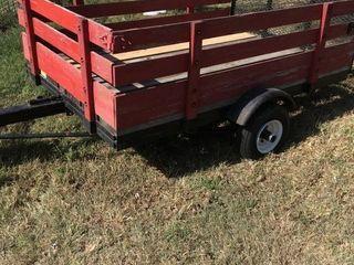 Two wheel trailer