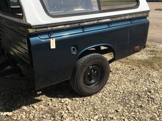 Converted trailer