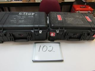 Pair  Pelican Cases   1510 Air carry on Case   Int